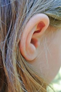 Hinter dem Trommelfell im Ohr beginnt die Hörwahrnehmung