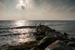 In der Umwelt treffen viele Geräusche auf uns, die man wegfiltern muss...