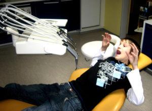 Angst vor dem Zahnarzt ist keine gute Voraussetzung...