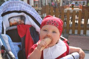 Kinder müssen erst auf den Geschmack des Essens gebracht werden...