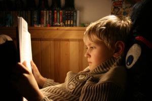 Egal, wie alt das Kind ist, Vorlesen ist immer wichtig...